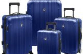 Travelers Choice New Luxembourg 4 Piece Hard-Shell Luggage Collection