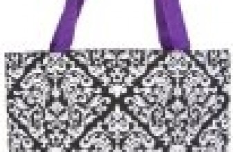 Ever Moda Damask Collection Tote Bag, Large 17-inch Reviews