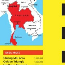 Chiang Mai Travel Map Third Edition (Thailand Regional Maps)
