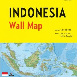 Indonesia Wall Map Second Edition (No)