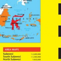 Sulawesi Travel Map Sixth Edition (Periplus Travel Maps)