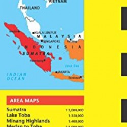 Sumatra & Medan Travel Map Fifth Edition (Periplus Travel Maps)