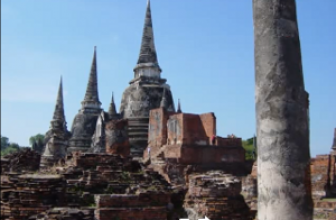 Temples In Ayutthaya Thailand Part 2 of 4