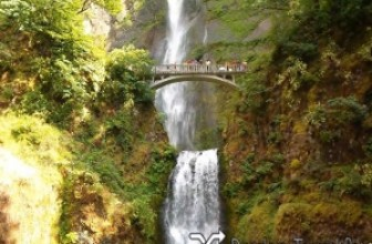 Multnomah Falls, Bonneville Dam, Timberline Lodge, Portland, Oregon, USA